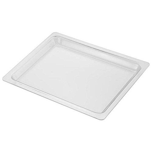 Lèche frite en verre (44,4 X 37,2X2,80cm) - Four micro-ondes - BAUKNECHT, WHIRLPOOL, KITCHENAID