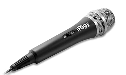 IK Multimedia iRig Mic Handheld Microphone for iPhone, iPod Touch