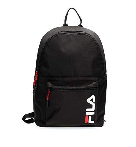 Fila Urban Line Backpack S'cool - Zaini Unisex Adulto, Nero (Black), 15.5x42.5x29 cm (B x H T)