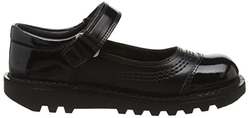 Kickers Kick Pop Juniors, Mary Jane fille Noir - Noir