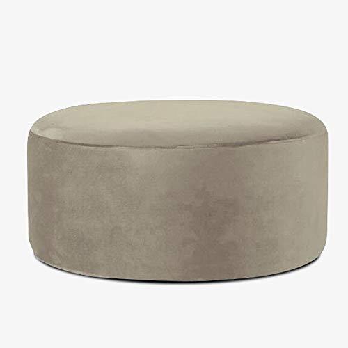 XiuHUa Schuhgeschäft Bekleidungsgeschäft Sofa Test Shoe Bench Round Ottoman Shop Rest Couchtisch Sofa Bench Big Hocker Fuß, eine Vielzahl von Farben zur Auswahl Fußbank (Color : F)