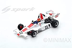 SPARK-Coche en Miniatura de colección, s5672, Color Blanco/Rojo