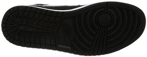 Nike Air Jordan 1 Retro High Og, espadrilles de basket-ball homme Noir (Noir / Blanc-Noir)