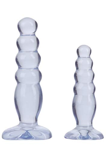 Doc Johnson Crystal Jellies Anal Trainer Kit - clear, 1 Stück (Doc Johnson-trainer)