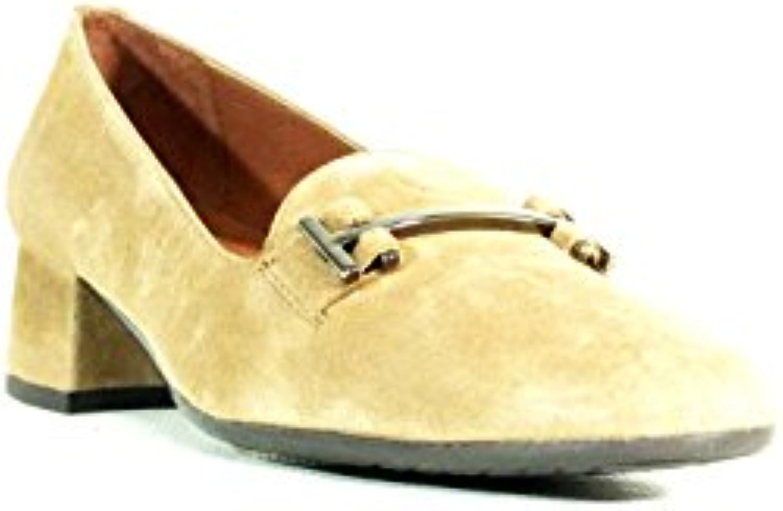 Hispanitas- Zapato Marion ante taupe mujer