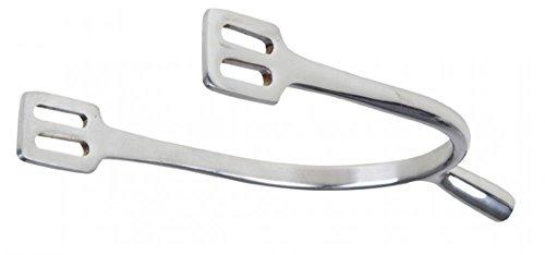 HKM 540108 Edelstahlsporen für Damen, Dornlänge 3.0 cm, M