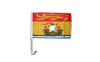Flaggenfritze Autofahne Autoflagge Kanada Neubraunschweig - 30 x 40 cm (Autofahne Kanada)