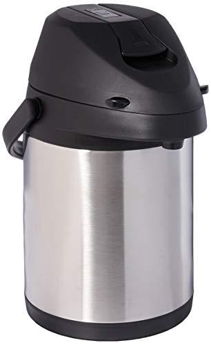 Brentwood CTSA-2500 Airpot Spender für heiße und kalte Getränke, Edelstahl, 2,5 l 2,5 L Airpot