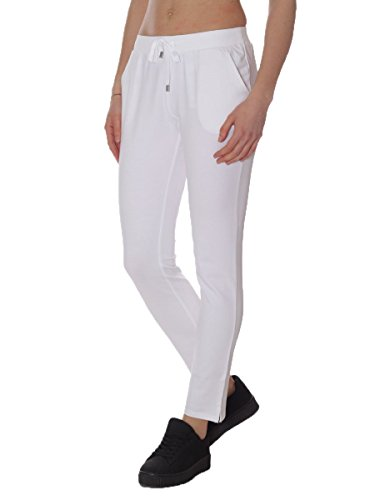 Pantalone Liu.Jo Felpina Garzata T17067F0626 MainApps Bianco