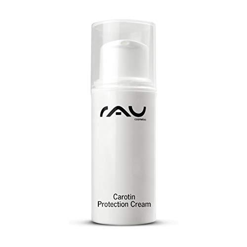 RAU Cosmetics Carotin Protection Cream 5ml - schützende sensitiv Creme für Gesicht und Body - natürliche Tönung durch Beta Carotin (1 x 5ml)