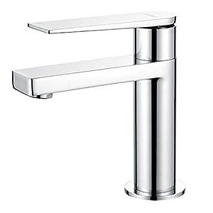 GRIFEMA Lyon – Grifo de lavabo, mezclador monomando baño, Cromo