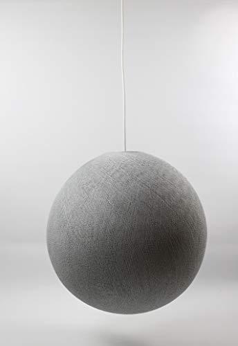 Cotton Ball Lights Lampe suspension 25 cm, coton, Stone