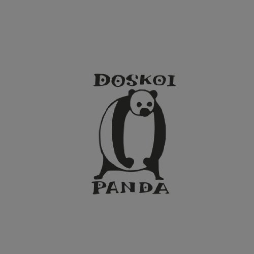 OP Doskoi Panda - Stofftasche / Beutel Weiß