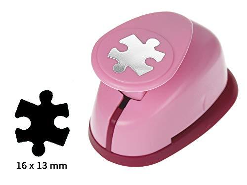 Sescha Motivlocher/Papierstanzer Puzzle von EFCO - Größe S: 16x13mm