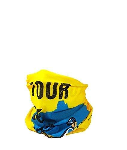 RUFFNEK Tour de France Motif écharpe Multifonction Cache-Cou, Bonnet - pour Homme, Femme, Enfant,