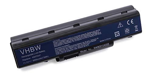 Batterie Li-Ion 6600mAh (11,1V) pour Acer Aspire 2930, 2930G, 4230, 4310, 4315, 4520, 4530, 4710, 4720, 4730, 4736, 4920, 4930G, 5536, 5738Z,etc.