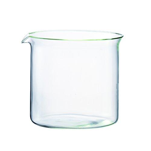 Bodum Spare Beaker Bicchiere di Ricambio per Teiera, 1.0l, 1875, 1885, 1916, 1765, 1766, Trasparente, 1865-10