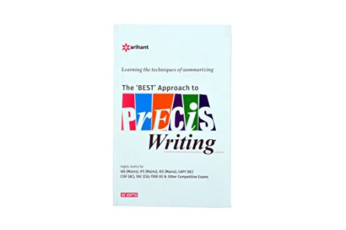 The ' Best' Approach To Precis Writing, Book Of Precis Writing