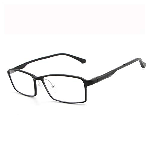 Blaulicht-Schutzbrille Hipster Metallrahmen Leichte UV-Filterlinse, Classic Round für Männer Frauen Anti-Augenbelastung Anti-Blue Ray-Lesebrille für Computer-black