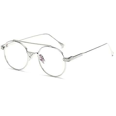 High Quality Metal Frame Steam Punk Sunglasses Women Brand Designer Round Men Gothic Sun Glasses Vintage (Hip Hop Mode Sonnenbrillen)