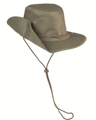Buschhut m. Druckknopf oliv Gr.XXL (Militär Xxl Hut)
