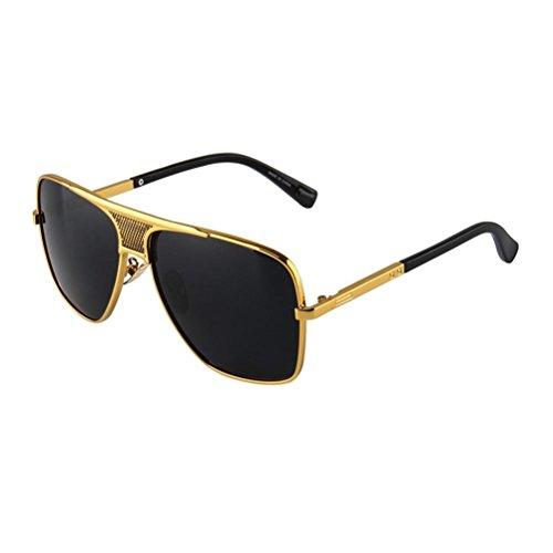 Metall Rahmen Sonnenbrille Klassiker Retro Männer Sonnenbrille Brille c1 Männer Versace Brillen Frames