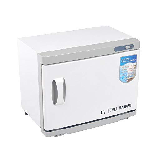 LONGINGHOME 16L Handtuchwärmer Kompressenwärmer UV-Licht Sterilisator Hot cabby cabinet Handtuchablage Friseursalon Kosmetikstudio