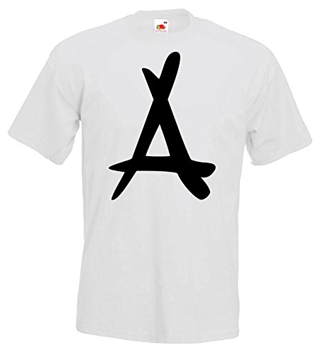 TRVPPY Herren T-Shirt Modell Kid Ink Tha Alumni, Weiß, XL (Ink-t-shirt Kid)