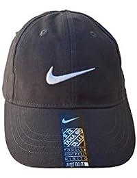 8fe8ba553e05e Nike Infant Boys Logo Swoosh brodée Coton Casquette de Baseball SZ 12 24 m (