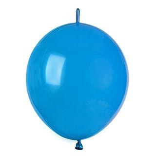 GEMAR Aptafêtes Durchmesser 33cm mit Runde Luftballons, 50Stück