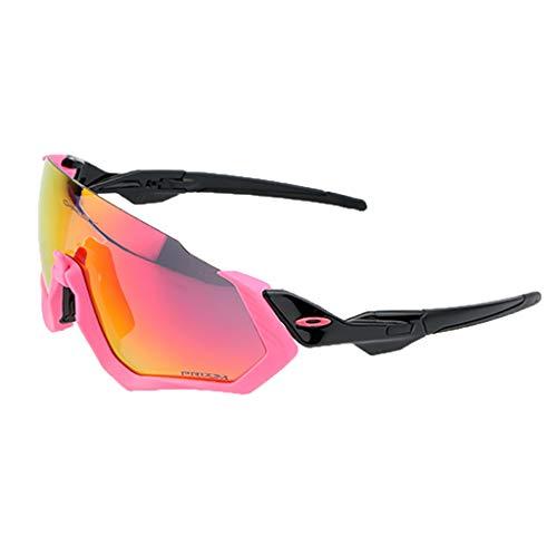 YHDD Reiten polarisierte Brille Half Frame Outdoor Sports Sonnenbrillen Laufen (Farbe : #6)