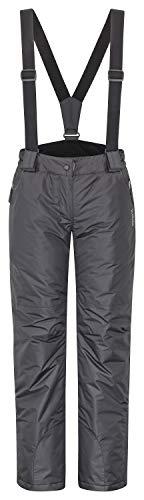 icefeld Damen Skihose/Snowboardhose/Schneehose, schwarz in Größe L