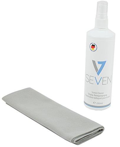 V7 - Bildschirmreiniger 250ml + Mikrofasertuch