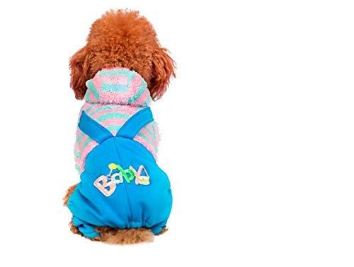 Unbekannt ML Hundekleidung Kleiner Hund Mit Kapuze Haustier Kostüm,M