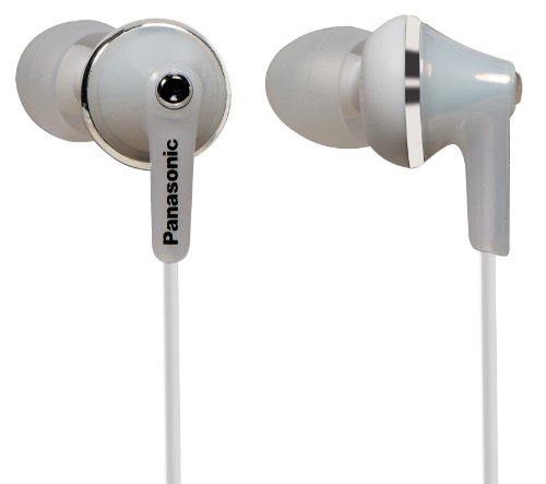 אוזניות ! Panasonic RP-HJE190E-W Deep Bass Fit In Ear Headphones - White