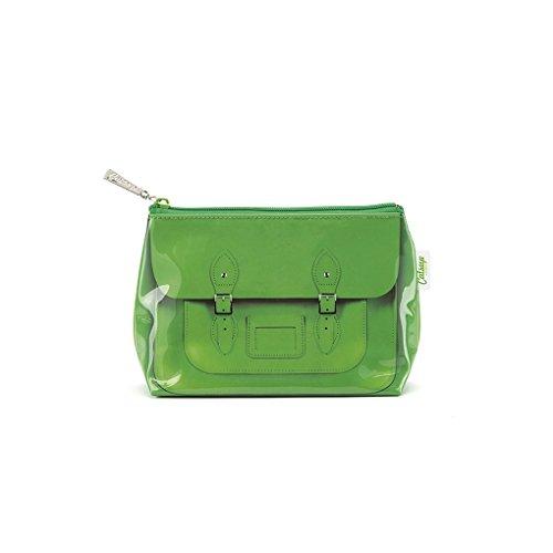 Catseye Kosmetiktasche - Tasche grün