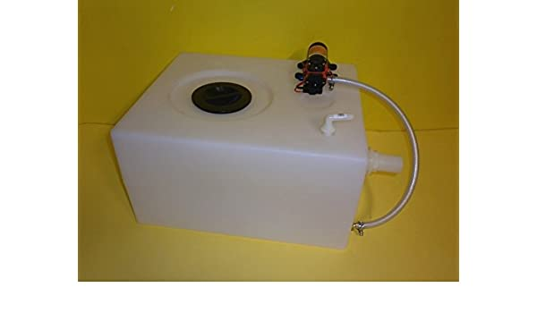 Fonti SNC Tank Kit with Autoclave Pump for Water Camper Marine Boat