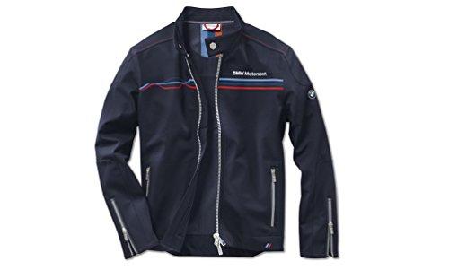 bmw-motorsport-da-uomo-blu-soft-shell-giacca-con-zip-vento-e-idrorepellente-taglia-m