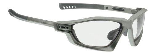 Uvex Radsportbrille Ultraguard Vario, Gun mat/Smoke Vario, Einheitsgröße, S5304894701