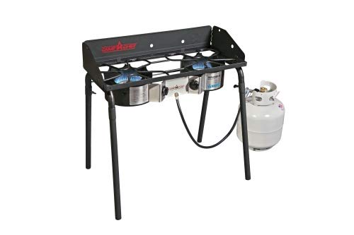 Camp Chef Explorer Stove Gas-Kocher Camping Kochen
