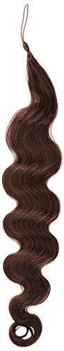 American Dream le Rajout Capillaire Cheveux Humains Minivague Couleur 080 Brun Foncé Moka 24\\