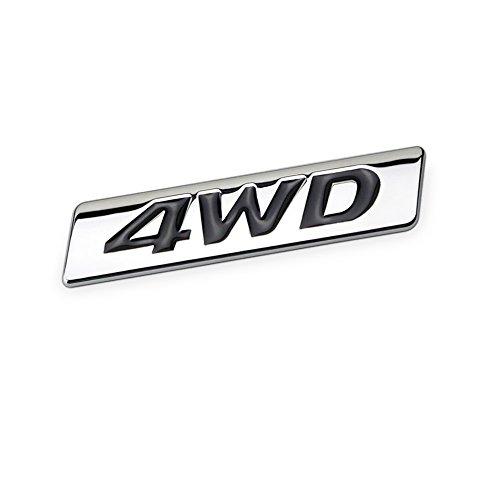DSYCAR 3D Metal 4WD Etiqueta Engomada Del Coche Logotipo