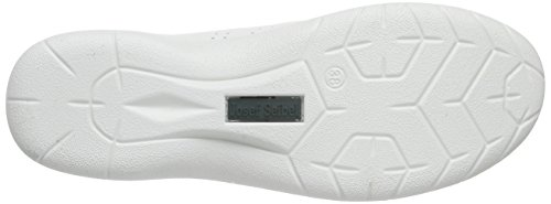 Josef Seibel Damen Fabienne 35 Schnürhalbschuhe Weiß (weiß/silber)