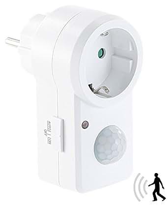 Prevolt revolt prise avec détecteur de mouvement pIR & switch, iP20