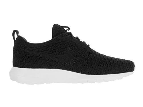 Nike Nike Roshe Nm Flyknit, Chaussures de sport homme Noir / Noir-blanc