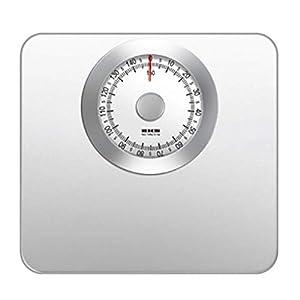 BáSculas De BañO MecáNicas: Pesaje Preciso, Dial AnalóGico FáCil De Leer, Plataforma De Metal Resistente, Sin Botones Ni BateríAs, TamañO : 270x286x46mm