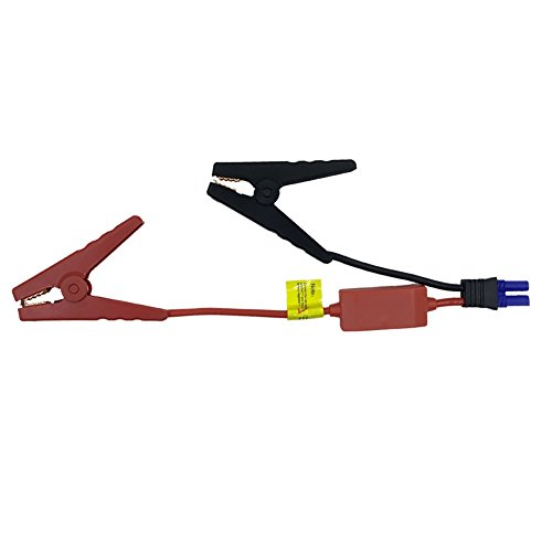 EC5 Jump Starter Qutaway Replacement EC5 Connector Emergency Lead Jumper Cable Alligator Clamp Booster Clips de batterie pour voitures avec protection Safety Box