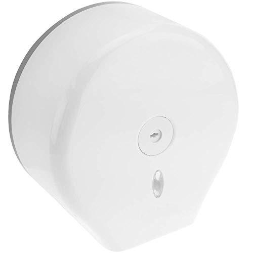 Dispensador de papel industrial, de plastico, antibacteriano ABS, Papel higienico en rollo