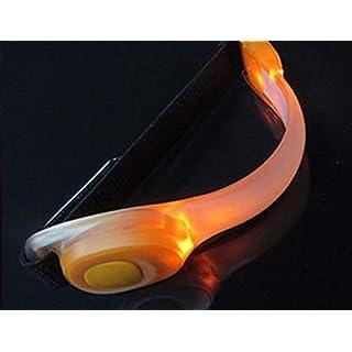 ATST Outdoor Sports LED Silicon Armband - Orange