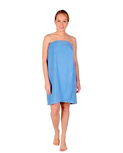 Arus-Saunakilt-Damen, Größe: L/XL, Farbe: Hellblau